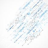 Abstrakter Technologiegeschäfts-Schablonenhintergrund Lizenzfreie Stockbilder
