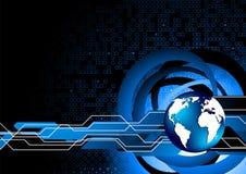 Abstrakter Technologiehintergrund Lizenzfreie Stockfotos