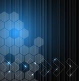 Abstrakter Technologiehintergrund Stockbilder