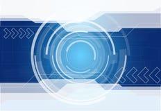Abstrakter Technologiehintergrund Stockfotografie