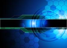 Abstrakter Technologiehintergrund Stockfotos