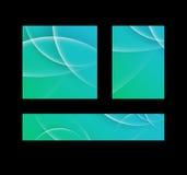 Abstrakter Technologiehintergrund Futuristische Technologieschnittstelle Lizenzfreies Stockbild