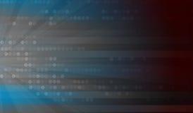 Abstrakter Technologiehintergrund Futuristische Technologieschnittstelle Stockfoto