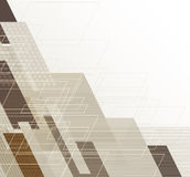 Abstrakter Technologiehintergrund Futuristische Technologieschnittstelle Vecto Lizenzfreie Stockbilder