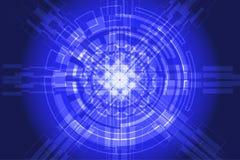 Abstrakter Technologieinnovations-Konzepthintergrund: ENV 10 Lizenzfreie Stockfotografie