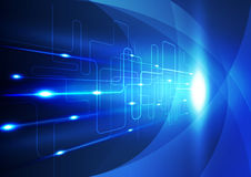 Abstrakter Technologieinnovationshintergrund, Vektorillustration Lizenzfreies Stockfoto