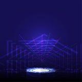 Abstrakter Technologieinnovationskonzept-Vektorhintergrund: ENV 10 Lizenzfreie Stockfotografie
