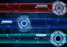 Abstrakter Technologiekonzepthintergrund Lizenzfreies Stockbild