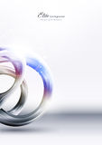 Abstrakter Technologiemetallhintergrund Lizenzfreies Stockbild
