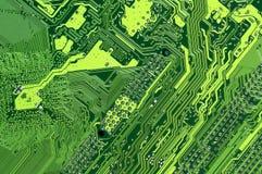 abstrakter Technologievektorhintergrund mit Kopienraum Stockfoto
