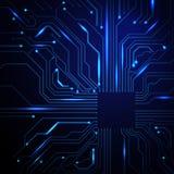 Abstrakter technologischer Hintergrund Lizenzfreie Stockfotografie