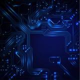 Abstrakter technologischer Hintergrund Lizenzfreie Stockbilder