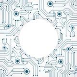 Abstrakter technologischer Hintergrund Quadratisches Muster der Struktur Lizenzfreies Stockfoto