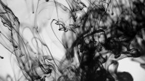 Abstrakter Tintenhintergrund stock video