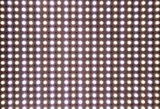 Abstrakter transparenter weißer geführter Schirm Stockfotografie