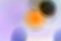 Abstrakter undeutlicher Hintergrund mit Kreisen Stockfotografie