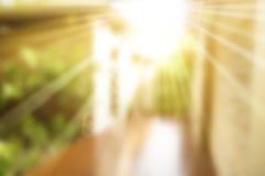 Abstrakter undeutlicher warmer Hintergrund Stockbilder