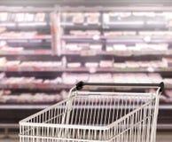 Abstrakter Unschärfe-Einkaufsmarkt-Hintergrund Lizenzfreie Stockfotos