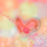 Abstrakter Unschärfehintergrund zum Valentinstag Stockbild