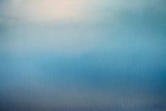 Abstrakter Unschärfehintergrund, Aquarellpapierüberlagerung Stockbild