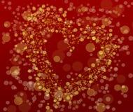 Abstrakter Valentine'-Tageshintergrund mit Raum für Ihren Text Stockfotografie
