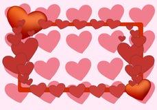 Abstrakter Valentinsgrußtag Stockbilder