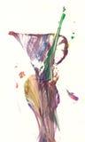 Abstrakter Vase Lizenzfreies Stockfoto
