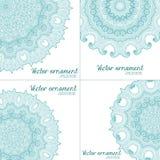 Abstrakter Vektor-dekorative mit Blumengrenze Sie kann für die Verzierung von Hochzeitseinladungen, von Grußkarten, von Dekoratio Lizenzfreies Stockbild