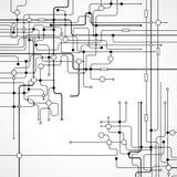 Abstrakter Vektor-Hintergrund Stockfoto