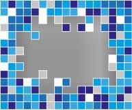 Abstrakter Vektor Hintergrund gebrochenes mozaic Stockbild