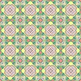 Abstrakter Vektor-nahtloses Farbmuster für Hintergrund stock abbildung