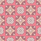 Abstrakter Vektor-nahtloses rosa Farbmuster für Hintergrund vektor abbildung