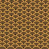 Abstrakter Vektor-Retro- Muster Stockbild