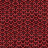 Abstrakter Vektor-Retro- Muster Stockfotos