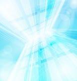Abstrakter vektorblauhintergrund Stockbild