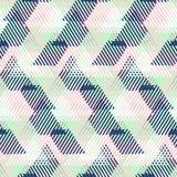 Abstrakter vektorgestreifter Hintergrund lizenzfreie abbildung