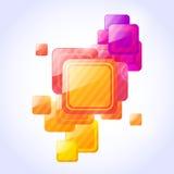 Abstrakter vektorhintergrund Lizenzfreies Stockfoto