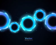 Abstrakter vektorhintergrund Stockbilder