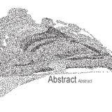 Abstrakter vektorhintergrund Stockfoto