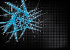 Abstrakter vektorhintergrund auf dunkler Auslegung Lizenzfreie Stockfotografie