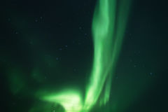 Abstrakter vektorhintergrund Aurora Borealis-Naturlandschaft Stockfotografie