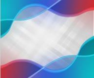 Abstrakter vektorhintergrund Flüssige Farblinien Stockbilder