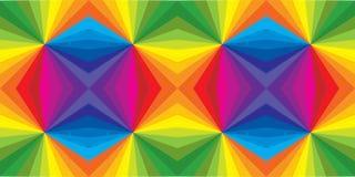 Abstrakter vektorhintergrund Kristallmuster nahtlos Stockfoto