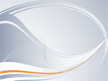 Abstrakter vektorhintergrund mit Zeilen Lizenzfreies Stockbild