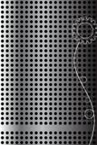 Abstrakter vektorhintergrund. Stahlzelle vektor abbildung