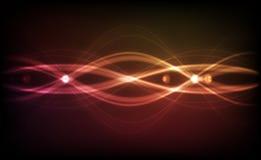 Abstrakter vektorhintergrund - transparente Leuchten Stockbilder