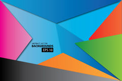 Abstrakter Vektorhintergrundvektor Lizenzfreies Stockfoto