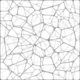 Abstrakter Vektormosaik-Weißhintergrund Stockbilder
