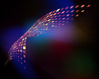 Abstrakter vektormosaikhintergrund. Lizenzfreie Stockbilder