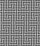 Abstrakter vektornahtloses Muster Stockbild